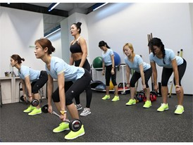 FILA Korea hosts one-day fitness class to promote health and beauty