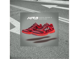 Promotional ad for the new FILA Kenya Racer 3 running shoe