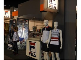 The BE INDIVIDUAL collection on display at the Porsche Grand Prix