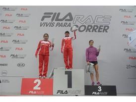 Winners of the FILA 10k women's category