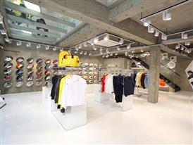Inside look into FILA's new 3-story mega shop in Itaewon, Seoul