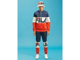 Images from FILA UK men's Black Line collection
