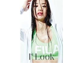 Stephanie Lee in FILA Korea for 1st Look magazine