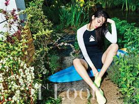 FILA Korea and Stephanie Lee Promote New Summer Collection in 1st Look Magazine