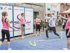 Volleyball Demonstration with Andrea Lucchetta