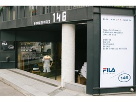 FILA Korea kicks off GROUND PROJECT in Seoul