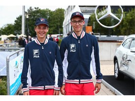 FILA personnel at the Mercedes Cup