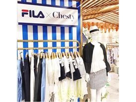 FILA x Chesty pop-up shop in Isetan Shinjuku