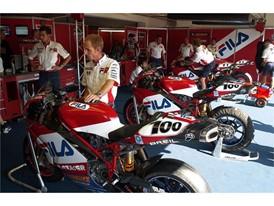 FILA x Ducati superbikes