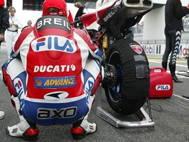 FILA sponsored the Ducati motorbike team from 2002-2004