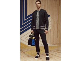 FILA x Jason Wu men's polo, jacket, and jogging pant