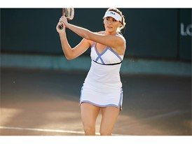 Yaroslava Shvedova in the FILA women's Platinum dress