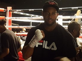 FILA Sponsored Boxer Darmani Rock Secures His Fifth Straight Victory