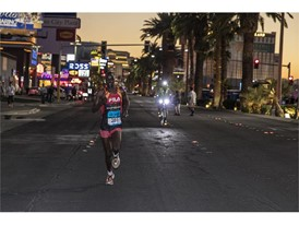 FILA Runner William Kibor Wins Las Vegas Half Marathon