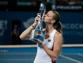 FILA Tennis Athlete Karolina Pliskova Captures the Brisbane International Title