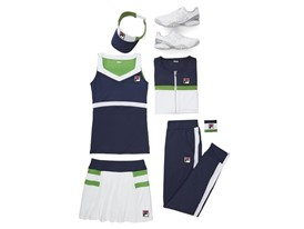 FILA Sponsored Athletes to Wear Heritage Tennis Collection for the BNP Paribas Open and Miami Open