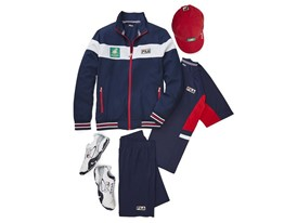 FILA Debuts New Heritage Uniform Collection for the BNP Paribas Open