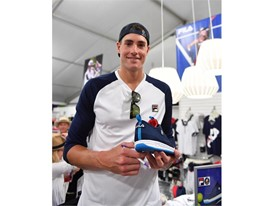 John Isner Joins FILA to Unveil New Heritage Tennis Collections and BNP Paribas Open Footwear Collaboration