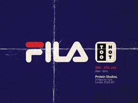 FILA Presents the FILA Archive Project in London