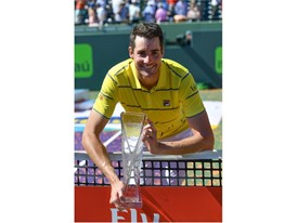 FILA Tennis Player John Isner Wins First ATP World Tour Masters 1000 Title in Miami