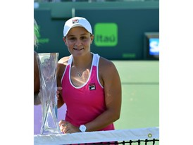 FILA Sponsored Tennis Athlete Ash Barty Wins 6th Career Doubles Title in Miami