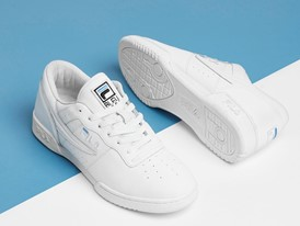 FILA Collaborates with Bleu Mode on Original Fitness Zipper Design