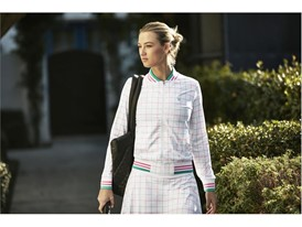 FILA Launches Women's Windowpane Tennis Collection