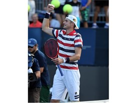 Isner Wins for the Fifth Time at Atlanta, Zeballos Stays Hot in Doubles