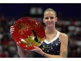 Karolina Pliskova Wins 11th Career Singles Title in Tokyo