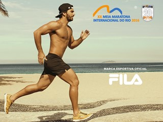 FILA Brazil is the Official Sports Brand of the 20th Rio de Janeiro International Half Marathon