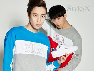 """FILA Korea Unveiled the """"FILA 2017 Back To School (COURT DELUXE)"""" Online Pictorial Featuring Popular Boy Group TEEN TOP"""