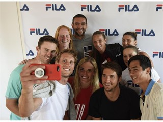 FILA Hosts Special Tennis Reception with Designers, Media and FILA Tennis Athletes in New York City