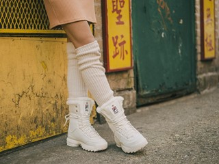 FILA Launches the Disruptor Shearling