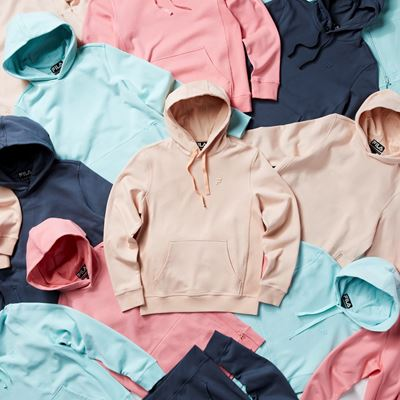 FILA North America Reveals a Gender-Neutral Capsule in Soft Color Palettes and Fabrics