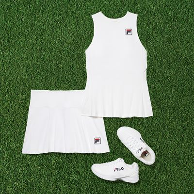 FILA Athletes Return to London Donning Limited Edition Performance Tennis Collections