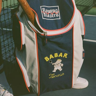 Rowing Blazers and FILA Launch Babar Limited-Edition Tennis-Themed Capsule