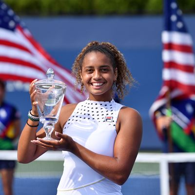 FILA Sponsored Athlete Robin Montgomery Takes Home US Open Girls' Junior Singles and Doubles Titles