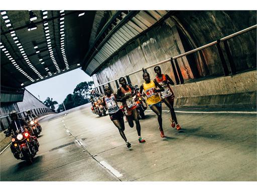 Winners at the 'Maratona São Paulo'