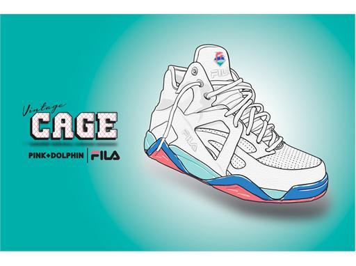 quality design 8797e 47847 Pink Dolphin x FILA Cage