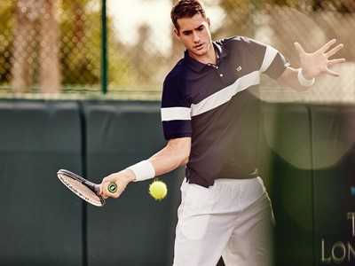 fec3ab6957de ... FILA s Sponsored Athletes to Debut Gingham and Heritage Collections in  Roland Garros ...