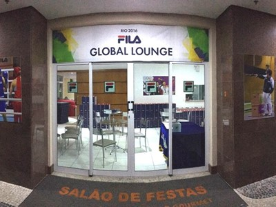 FILA Global Lounge Brings Athletes a Taste of Home in Rio