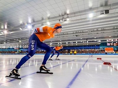 Netherlands 'Skating King' Sven Kramer Achieved 9th Overall Individual Win at the ISU European Allro