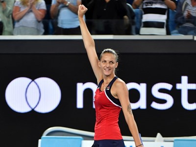 FILA's Karolina Pliskova Climbs to #3 in the WTA Tour Rankings