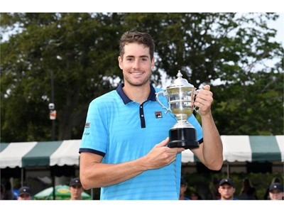 FILA's John Isner Wins Dell Technologies Hall of Fame Open