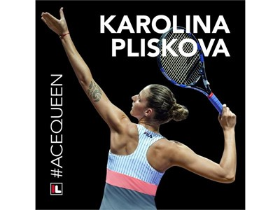 FILA Sponsored Tennis Player Karolina Pliskova is the WTA's 2017 #AceQueen