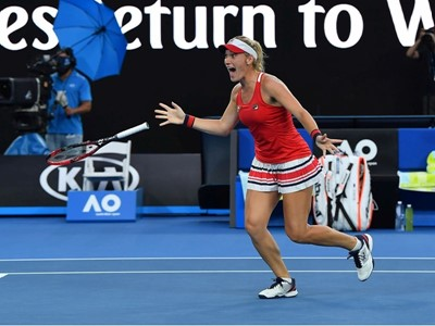 FILA Tennis Player Timea Babos Wins Doubles Title at the Australian Open