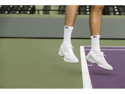 FILA Introduces Axilus Energized: Lightweight, Flexible Tennis Shoe Blends Style & Performance