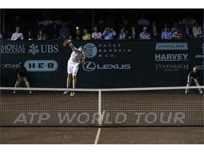 FILA's John Isner Reaches Career Milestone, Aces Competition for Number 10,000