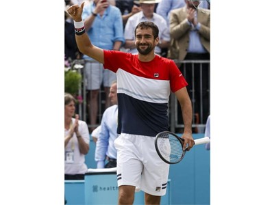 FILA Tennis Players Cilic, Peers Secure Titles at Queen's Club, Babos Back on Top in Birmingham