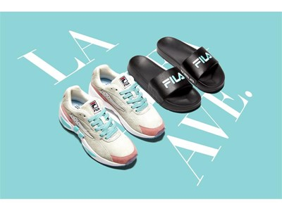 FILA North America and American Rag Collaborate on Mindblower and Drifter Styles
